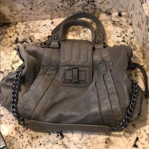 Marciano Grey Handbag with Chain